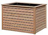 Hochbeet aus Holz Lärche 125 x 85 x 80 cm für Garten